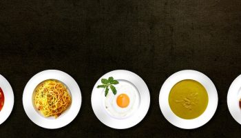plates of different dishes