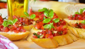 bruschetta Italian food