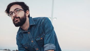 a bearded hipster with glasses