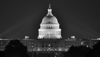 Capitol Building in the night