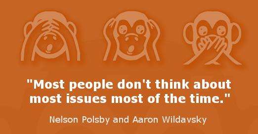Illusion of public opinion