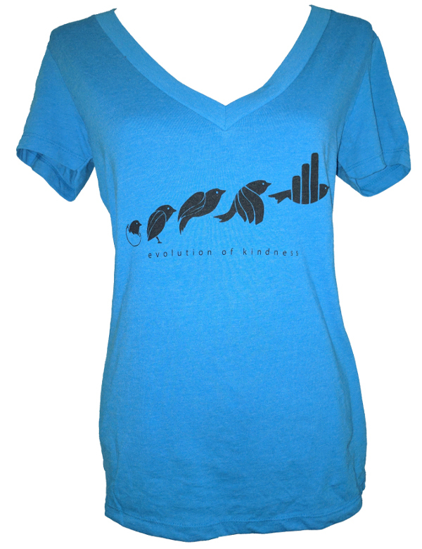 Evolution Shirt, V-Neck